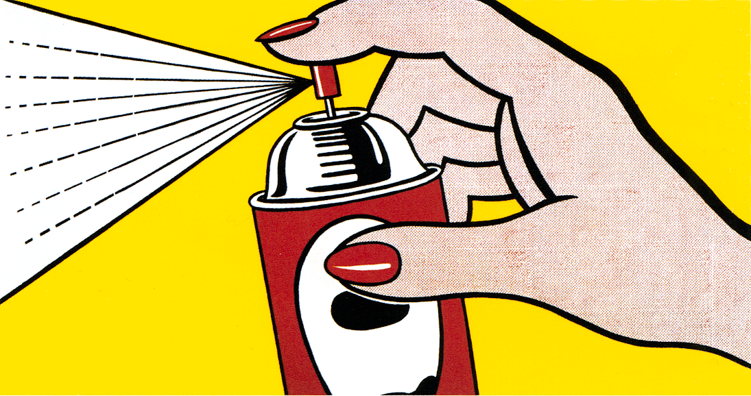 Spray, Roy Lichtenstein
