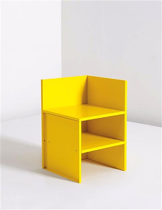 Corner chair, Donald Judd, 1990